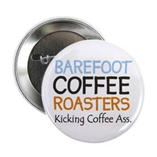 "The official Barefoot Coffe2.25"" Button (10 pack)"