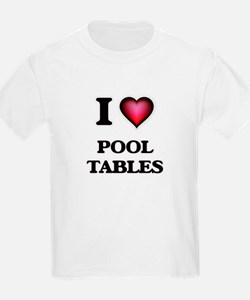 I Love Pool Tables T-Shirt