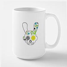 Sugar Skull Rabbit Mugs