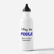 Cute Bluegrass music Water Bottle