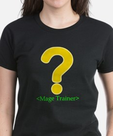 Mage Trainer Black T-Shirt for gamers T-Shirt