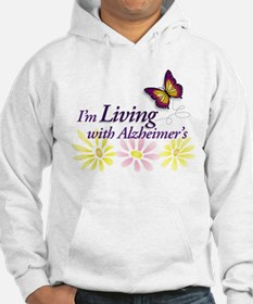 LIVING with Alzheimers Hoodie