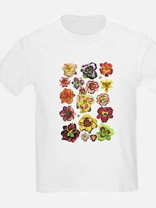 Assorted Daylilies T-Shirt
