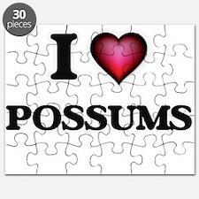 I Love Possums Puzzle