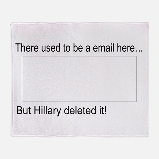 Cute Email Throw Blanket