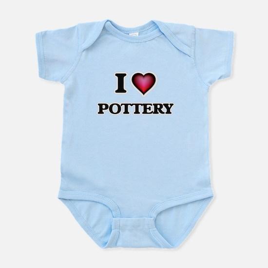 I Love Pottery Body Suit