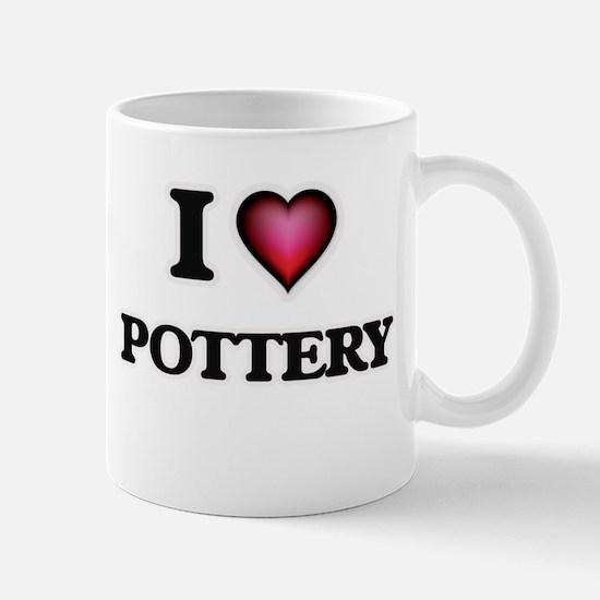 I Love Pottery Mugs