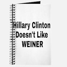 Hillary Clinton Journal