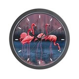 Flamingo Wall Clocks