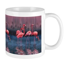 Flamingos Bathing Mug