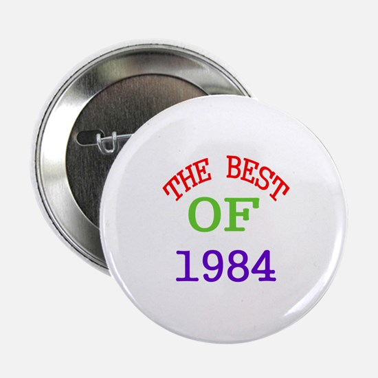 """The Best Of 1984 2.25"""" Button (10 pack)"""