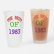 The Best Of 1983 Drinking Glass