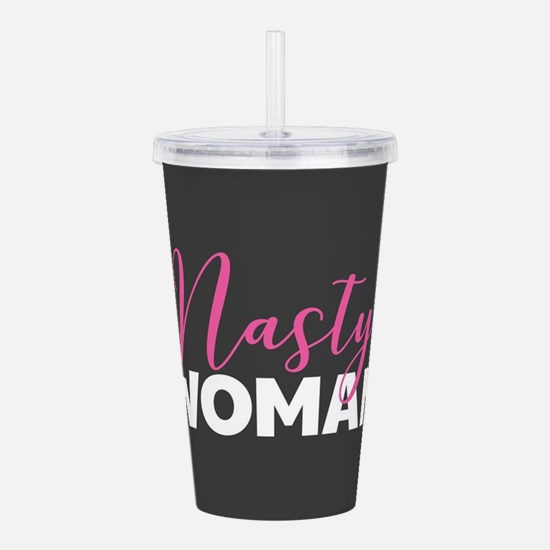 Clinton - Nasty Woman Acrylic Double-wall Tumbler
