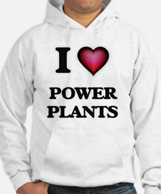 I Love Power Plants Hoodie