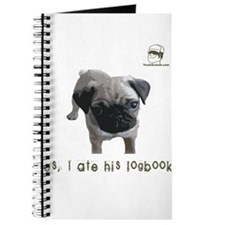 Yes, I ate his logbook! PUG Journal