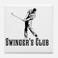 Swingers Club Tile Coaster