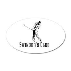 Swingers Club Wall Decal