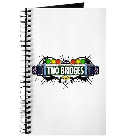 Two Bridges (White) Journal