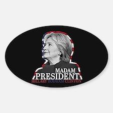 Madam President Decal