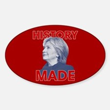 Clinton - History Made Decal
