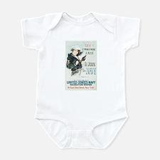Join The Navy Infant Bodysuit