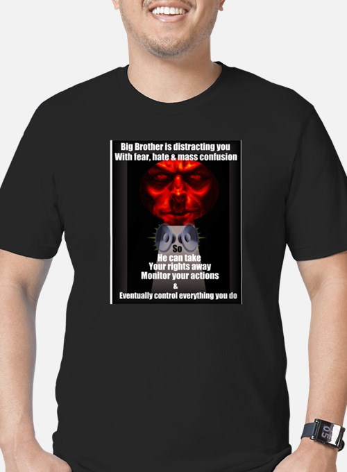 Big Brother is distracting you T-Shirt