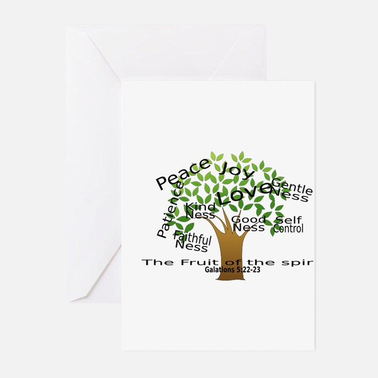 Fruit of the Spirit Greeting Cards