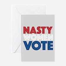 Nasty Women Vote Greeting Card