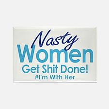 Nasty Women Magnets