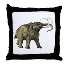 Mastodon Throw Pillow