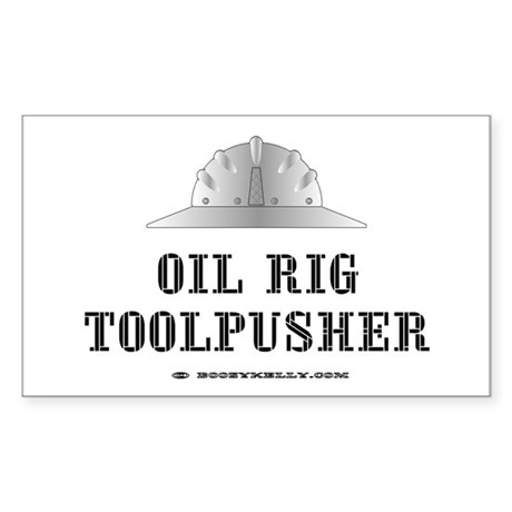 Toolpusher Rectangle Sticker