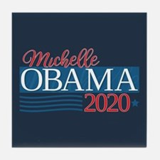 Michelle Obama 2020 Tile Coaster