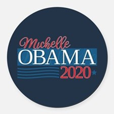 Michelle Obama 2020 Round Car Magnet