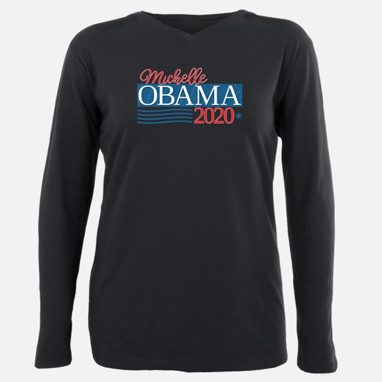 Michelle Obama 2020 Plus Size Long Sleeve Tee
