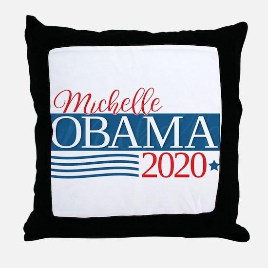 Michelle Obama 2020 Throw Pillow