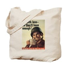 Rationing Tote Bag