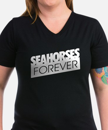 Seahorses Forever - Women's Fitted T T-Shirt