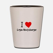 luvlogan.png Shot Glass
