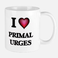 I Love Primal Urges Mugs