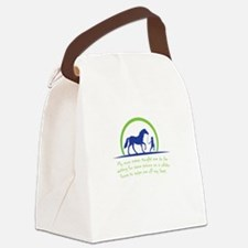 i love horse Canvas Lunch Bag