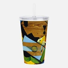 Still Life with a Guit Acrylic Double-wall Tumbler