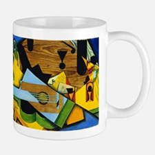 Still Life with a Guitar by Juan Gris Mugs
