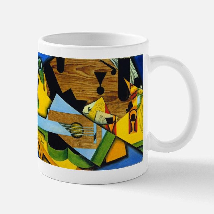 Still Life with a Guitar by Juan Gris Mugs