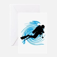 SCUBA Greeting Cards