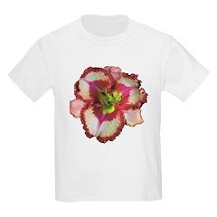 Red Ruffled Daylily T-Shirt