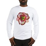 Red Ruffled Daylily Long Sleeve T-Shirt