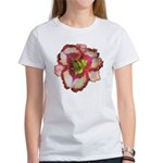 Red Ruffled Daylily Women's T-Shirt