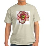 Red Ruffled Daylily Light T-Shirt