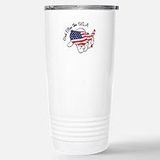 God Bless the USA Travel Mug