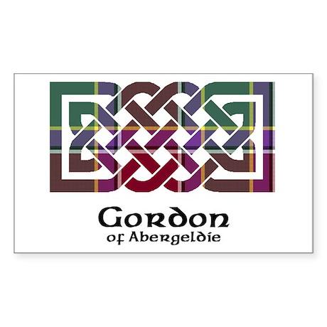 Knot - Gordon of Abergeldie Sticker (Rectangle)